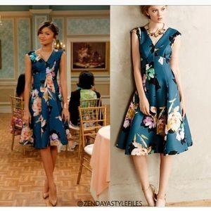 Anthro Moulinette Souers Baikal dress